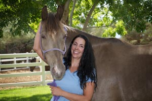 Charlie is a Tennessee Walking horse, and was fostered by our valley's specialists in gaited horses, Dreamwalker Ranch.