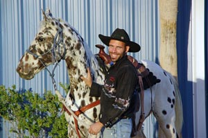 In October 2012, Poca was formally adopted to continue has a therapy horse at Paradise Ranch for people and children with autism.