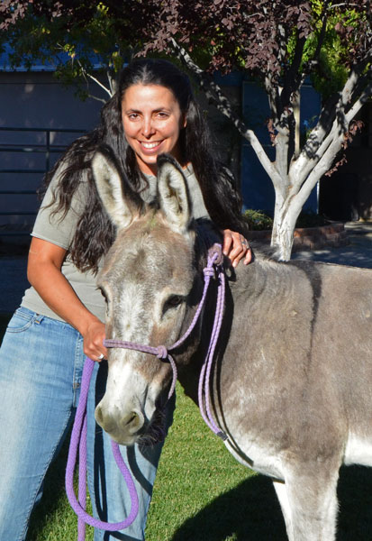 Dreamwalker adopts Donkey and he's the little star of their ranch!