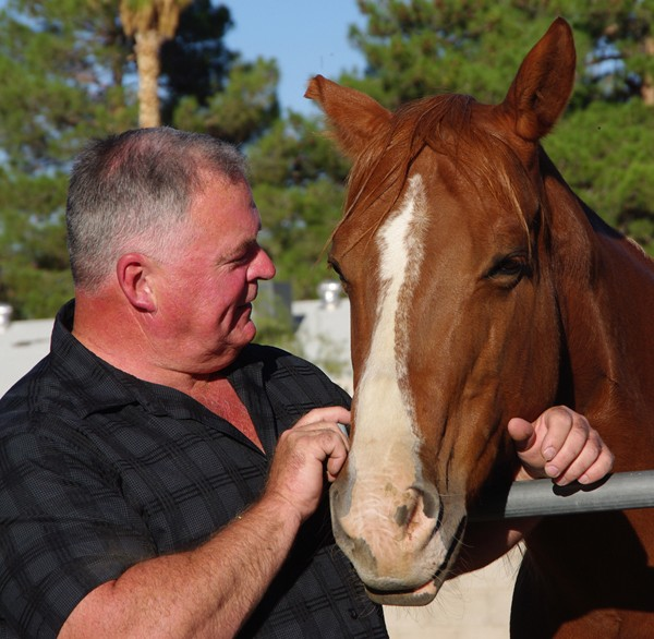 Brian will take Tipsy home to join Outlaw in a life of retirement and companionship