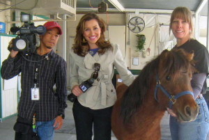 Local coverage by Ch. 13 of our first LEAN pony