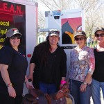 L.E.A.N. participates in two community tack sales to raise funds for our horss