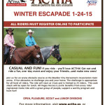 Supporter Karen Donnahie hosts 3 ACTHA rides in Winter/Spring with proceeds to benefit L.E.A.N.