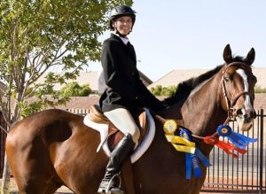Jack and Sarah win four ribbons at show